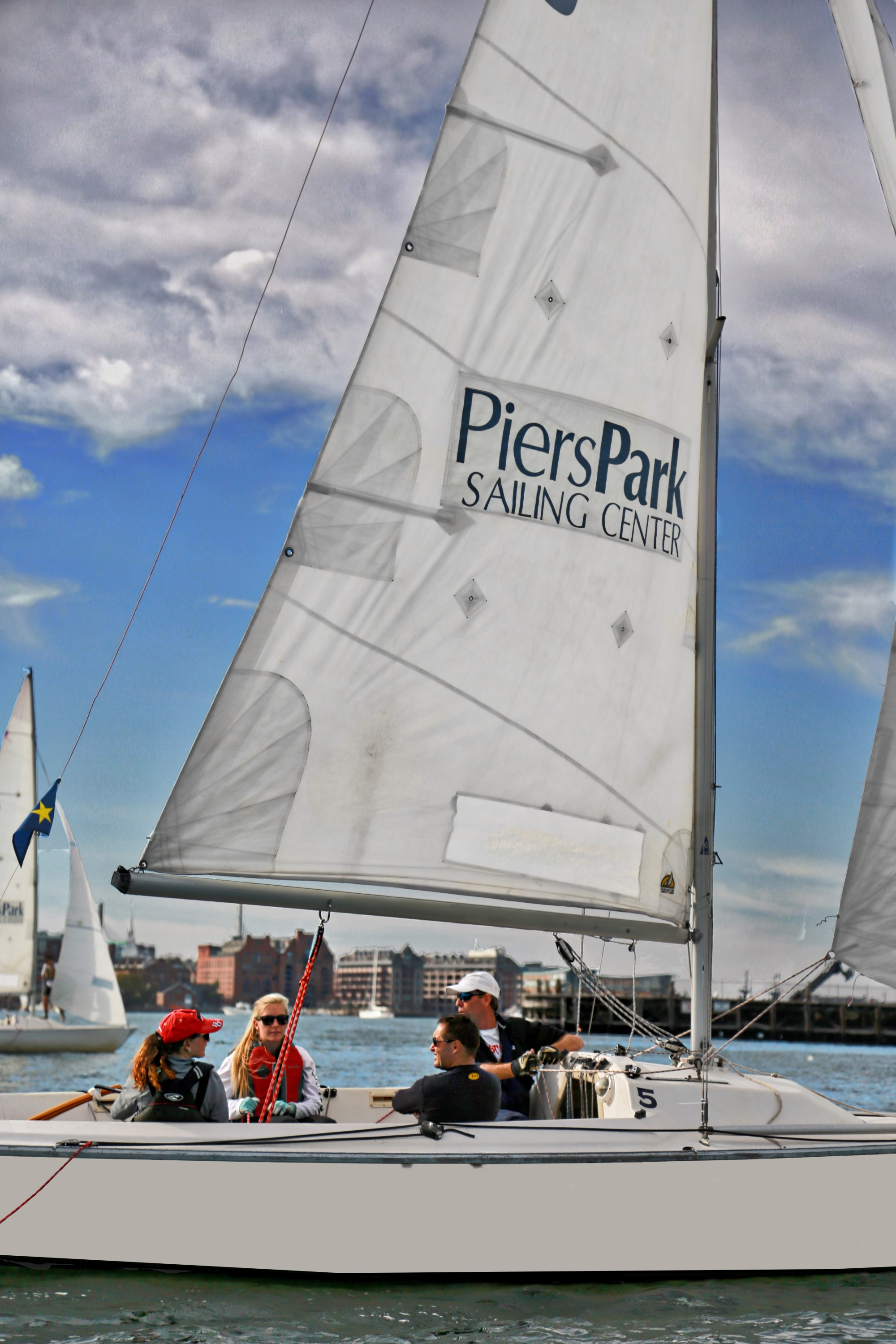 Sailing at Piers Park!